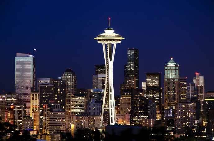 シアトル旅行でおすすめはスペースニードル