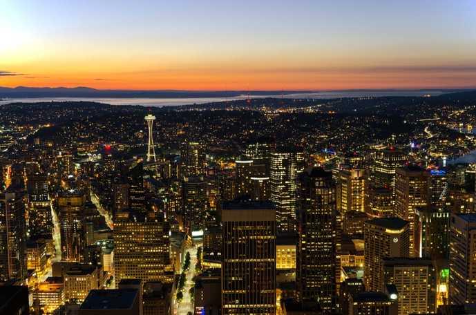 シアトルでおすすめの観光名所はコロンビアセンター