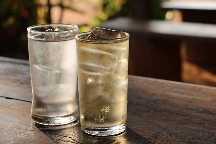 ウイスキーの美味しい飲み方「水割り」