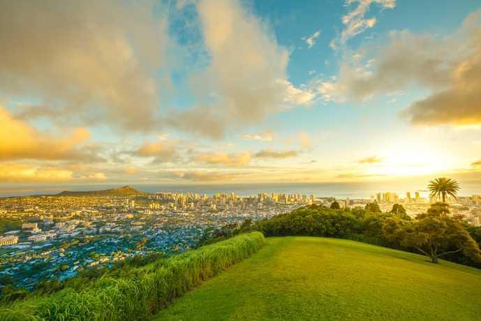 ハワイのおすすめ観光スポット「タンタラスの丘」