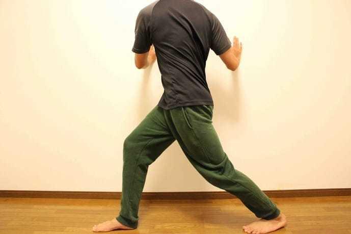 ふくらはぎと股関節周りの筋肉が伸ばせるストレッチメニュー