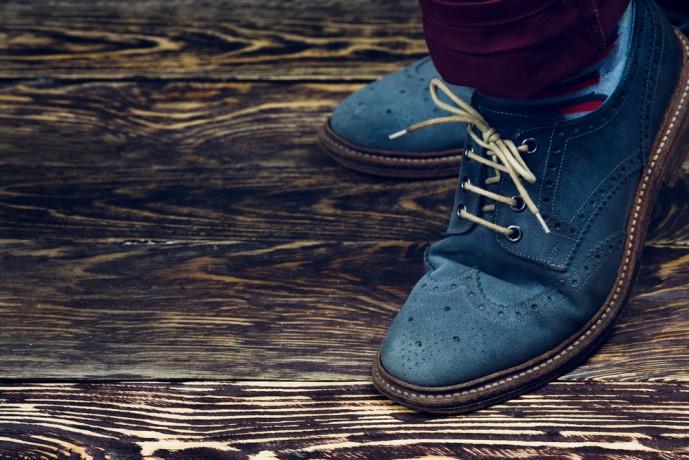 靴で低身長をカバー