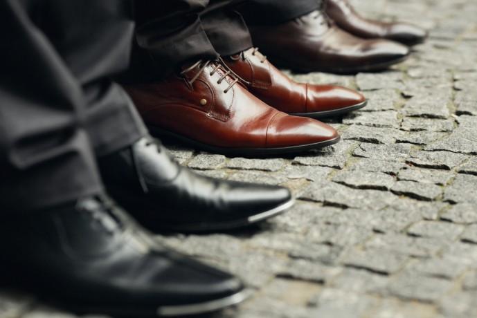 就活 内定 靴