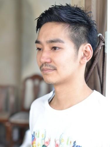 ピンパーマ メンズ 髪型
