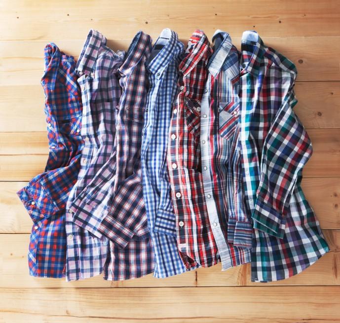 チェックシャツ メンズ