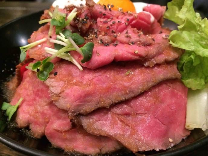 東京 ローストビーフ丼