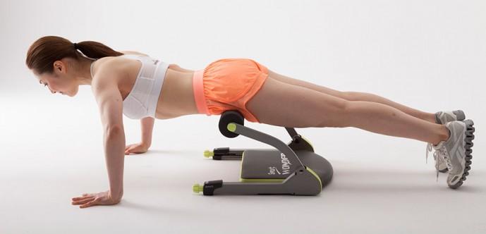 腹筋ワンダーコア トレーニング 種類別