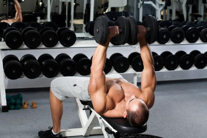 胸筋下部 筋トレ 筋肉 デクライン ダンベル ダンベルプレス