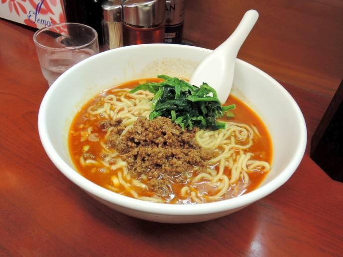 梅島ふうりゅうの担々麺