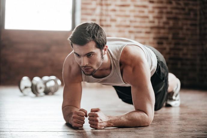 自重で行える効果的な体幹トレーニング8