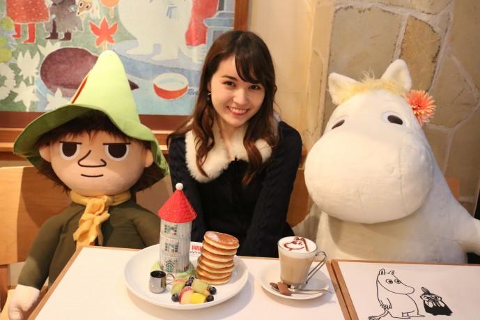 小田恵とムーミン