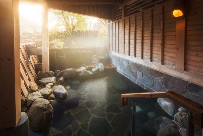 さやの湯処で岩盤浴デート