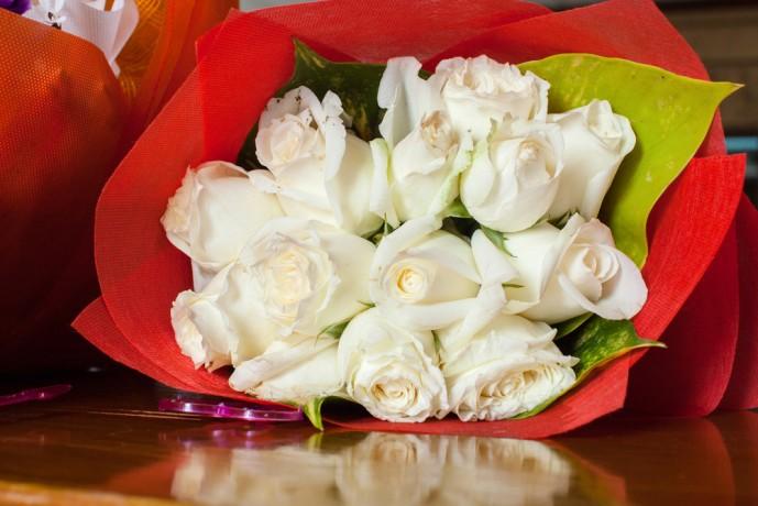 30代の彼女へのホワイトデーのお返しに花束