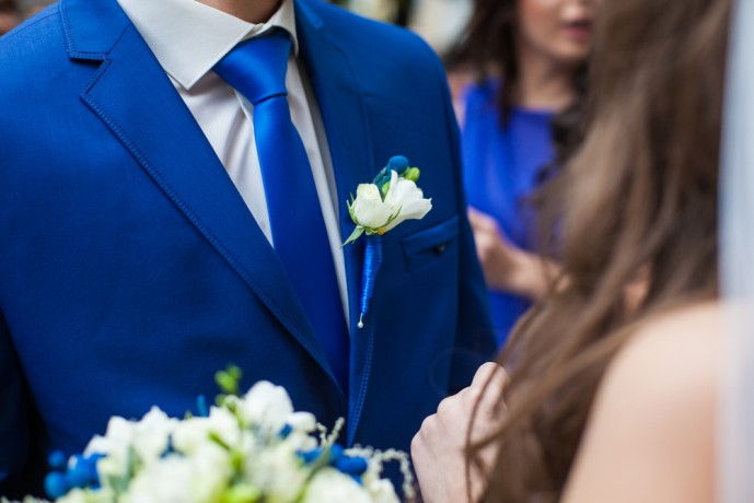 ブルースーツの着こなし方