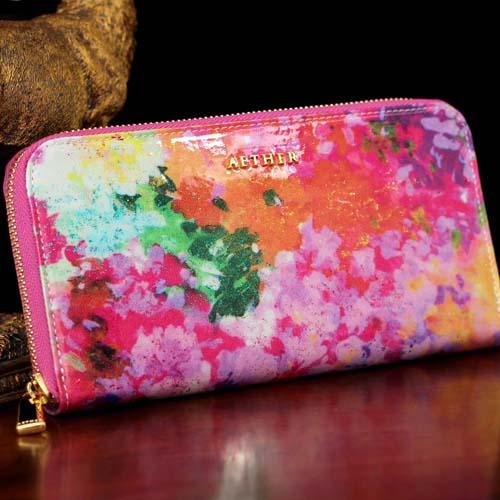 母の日のプレゼントにエーテルの財布