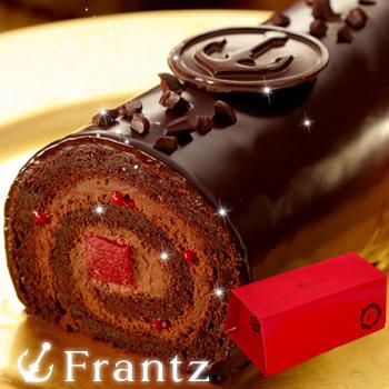 母の日のプレゼントに神戸フランツのチョコロールケーキ