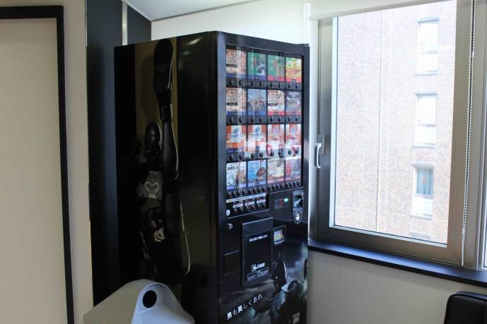 ゴリラクリニック新宿本院の自動販売機