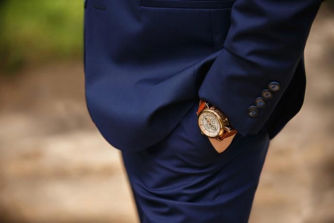 ロレックスの腕時計が似合う男性