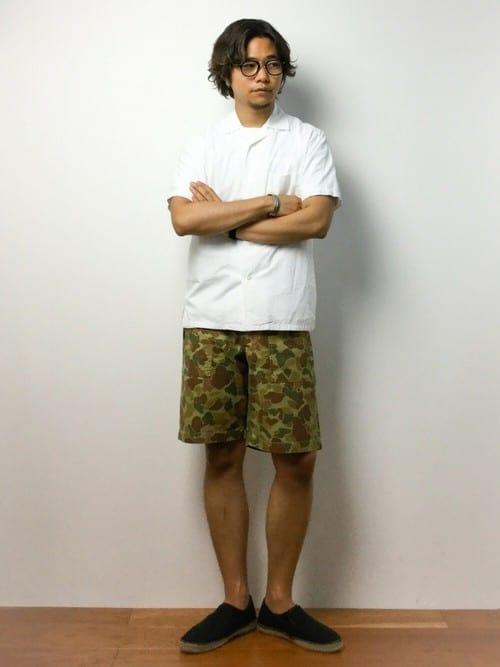 メンズの夏ファッションコーディネート