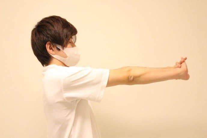 腕&肘の柔軟ストレッチ