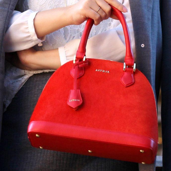 母の日のプレゼントにエーテルのルージュのバッグ