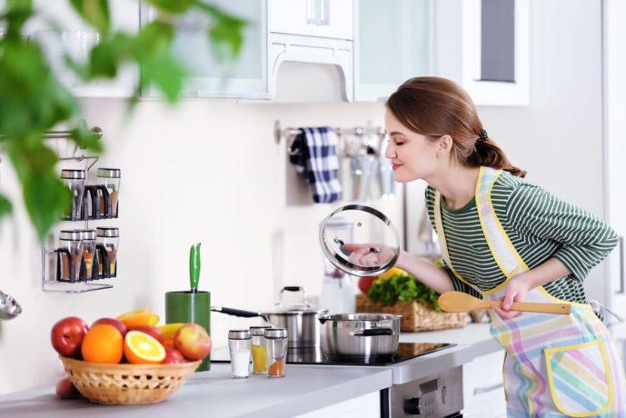 料理上手な女性